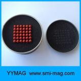 Magnetische Ballen van de Gebieden van de Magneet van Neocube de Neo