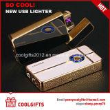 다채로운 USB 담배 비용을 부과 더 가벼운 전기 X 이중 아크 펄스 점화기