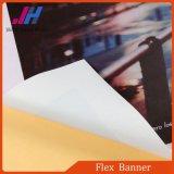 Bandeira lustrosa elevada do PVC Frontlit do anúncio ao ar livre