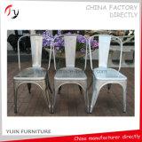 Niedriger Preis-Standardmodell-Gaststätte-Weiß, das Stühle (TP-24, speist)