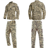 80%の綿20%ポリエステル森林パターンAcuの戦闘の軍隊のユニフォーム