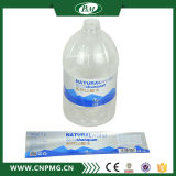Подгонянный высоким качеством ярлык стикера прозрачной пленки слипчивый для минеральной вода