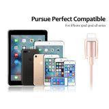 1m umsponnener Nylonaluminiumdraht der Beleuchtung-8pin haltbare USB-Kabel-Daten-Synchronisierungs-Ladung für iPhone 6 PlusiPad 6s 7