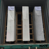 lastra bianca del controsoffitto di Carrara della pietra artificiale del quarzo di 3cm