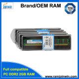 Unbuffered niet Ecc 128mbx8 Desktop van het Geheugen 8bits 2GB DDR2