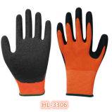 Nylon перчатка покрытия ладони латекса 13G