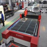 CNC Máquina de corte láser de fibra de hierro Inox