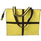 Saco de Tote com punho da tela, saco de feltro do oficial de feltro com fechamento da tecla