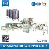 Línea de producción de cilindros cilíndricos de acero