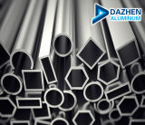 양극 처리된 분말 코팅 알루미늄 관 또는 바 또는 관 알루미늄 단면도