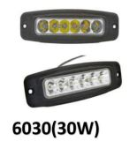 80ワットのペア- LED作業ライト表面の台紙-洪水驚くばかりの18W道4WD SUV ATV車のボートの照明(ペア)を離れた4インチの正方形のクリー族LED作業ライト