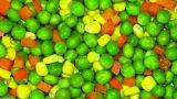 Mélange de légumes congelés organique