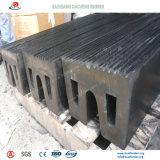 Amortecedores de borracha antienvelhecimento e anticorrosivos para o projeto de construção