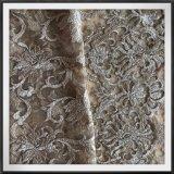 ナイロン網の刺繍のレースの花の刺繍のレース