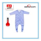 아기 온도계는 아기 장난꾸러기를 입는다