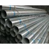 Tubo cuadrado galvanizado sumergido caliente del tubo de acero de la fábrica de China