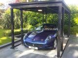 Незримые двойного подъема автомобиля гидровлические Scissor подъем автомобиля с крышей