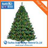 PVC rigide de couleur verte La décoration de film pour l'arbre de Noël