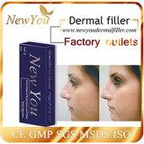 Nuevo Usted inyectable de ácido hialurónico de relleno dérmico, contra el envejecimiento de ácido hialurónico de relleno dérmico, inyectable de relleno facial, 1,0 ml Derm