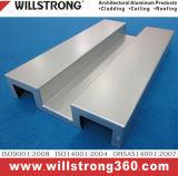 Panneau solide en aluminium de panneau de mur