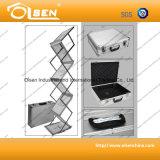 Suporte de folheto flexível portátil portátil para exibição