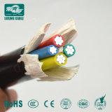 1Core - 5core aislamiento XLPE al cable de alimentación