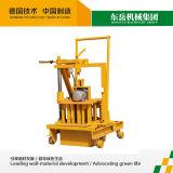 小さい移動式煉瓦機械Qt40-3c卵置く空の煉瓦作成機械