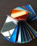 Folha acrílica do espelho da pintura da proteção ambiental