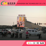 Outdoor Full Color LED Video Wall / Display / Screen Big Publicidade comercial, P20mm