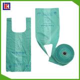 Qualité et sacs de chienchien en plastique bon marché pour les crabots de rebut