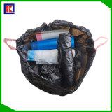 2017 sacs de détritus neufs d'ordures de cordon pour des déchets nettoyant