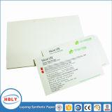 Papier thermique auto-adhésif de synthétique de l'étiquette pp