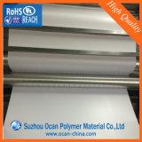 Лист PVC печатание экрана белый лоснистый твердый