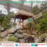 Thatch di foglia di palma sembrante naturale di Palapa del Thatch artificiale sintetico impermeabile a prova di fuoco del Thatch nei Maldives Bali Africa