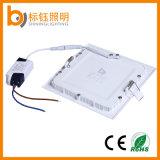 A China por grosso 50-60Hz Square Luz do painel de LED 9W AC85-265V lâmpadas para baixo do teto