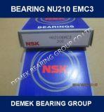 NSK zylinderförmiges Rollenlager Nu210 Em/C3