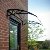 Lexan Polycarbonate Awning Protecting Window