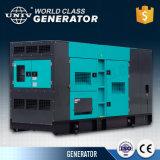 200kw/de type silencieux de 250kVA Groupe électrogène diesel de sauvegarde