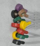 Cable de una sola pieza de Siemens 10ld EKG/ECG