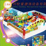 Campo de jogos macio interno da área da espuma do Trampoline de China do certificado do Ce da corrediça da fibra de vidro