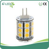 Diodo emissor de luz Bulbs 27SMD5050 AC/DC12-24V Warm White White do Pin do Bi
