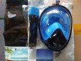 Маска Snorkel заплывания подныривания Scuba силикона Анти--Утечки полной стороны противотуманная