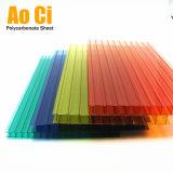 Material de telhadura plástico do PC do policarbonato