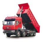 Caminhão de despejo dianteiro aprovado do ISO do CCC