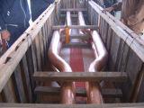 Ofen-kurzes kupfernes Nettorohr