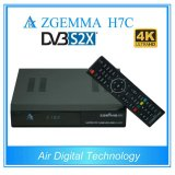 Коробка Zgemma H7c Multistream 4K UHD Kodi TV сердечника функции Ci+ двойная с тюнерами DVB-S2X+2*DVB-T2/C втройне