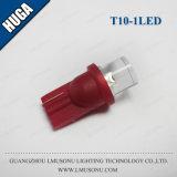 T10 1LED LED 가벼운 실내 램프 LED DC 12V 오목한 T10 LED 전구 램프
