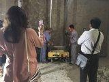 Строительное оборудование перевод здания отделкой гипсового цемента малое приглаживая
