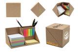 Note collante de cadre de papier amical de cube en Eco pour des articles promotionnels