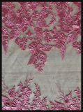 敏感な網の刺繍のレースのテュルの刺繍のレースの花の刺繍のレース